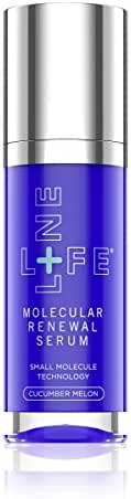Lifeline Skincare Collagen Booster (Molecular Renewal Serum) Cucumber Melon Reduces Signs of Aging, retinol like effects with, no irritation