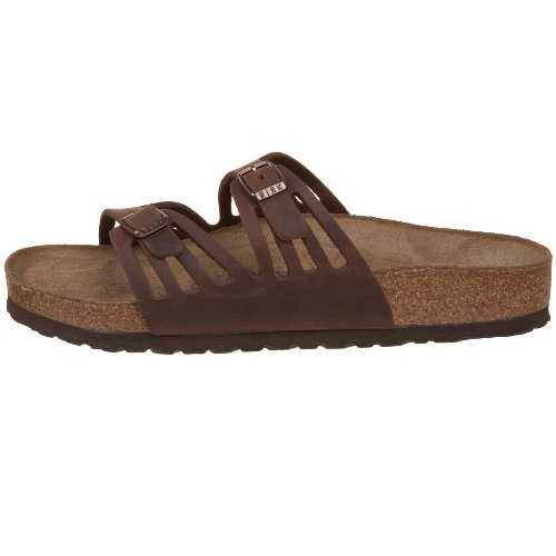 Birkenstock Women's Granada Soft Footbed Sandal,Habana Oiled Leather,38 M EU by Birkenstock (Image #5)