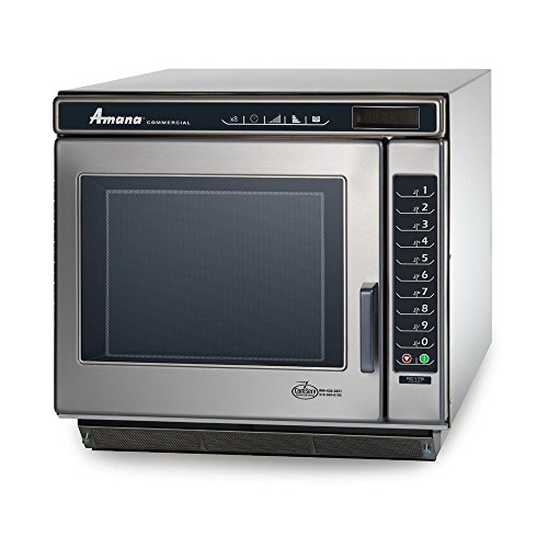 Amana Commercial RC22S2 Amana RC Chef Line Commercial Microwave Oven, 2200W, Stainless Steel by Amana Commercial