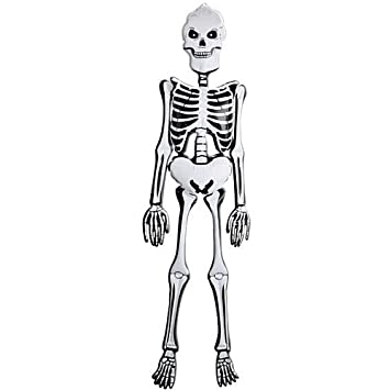 Esqueleto hinchable - 6ft: Amazon.es: Juguetes y juegos