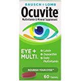 Bausch + Lomb Ocuvite Eye and Multi Multivitamin