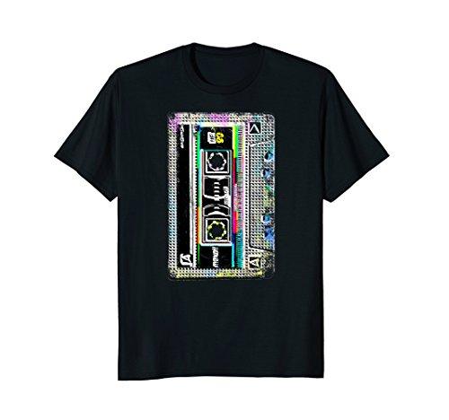 Cassette Tape Costume Shirt 80s 90s | Neon