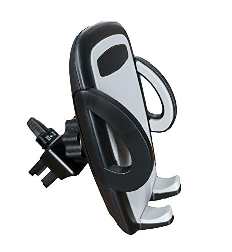 Cell Phone Holder for Car Air Vent, Oternal Car Phone Mount, 2-Level Adjustable Clamp, Compatible for iPhone Xs/XS MAX/XR/X 8/8 Plus/7/SE /6s /6 Plus /6, Samsung Galaxy S6/S5/S4 Sony Nokia and More ()