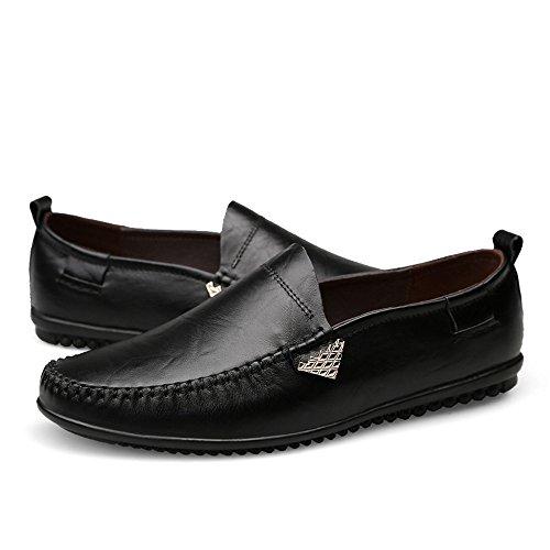 Uomo Da Mocassini shoes Shufang casual di Scarpe in uomo Mocassini da alta 2018 qualit pelle nCWYTx