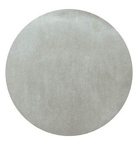 Chal Mural - 50 manteles individuales de mesa redondas gris ...
