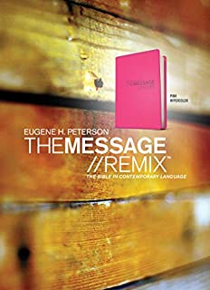 The Message//REMIX: The Bible in Contemporary Language (1600060250)   Amazon Products