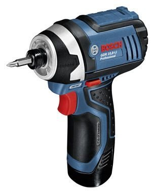 Bosch GDR 10,8-LI Professional Cordless Impact Wrench The Shortest Cordless Impact Driver in Its Class (Bare Tool)