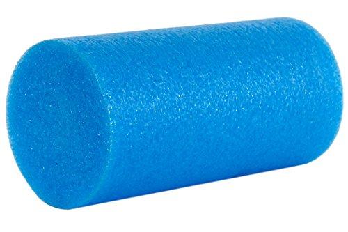 ProSource Discounts Almohadilla cilíndrica de espuma de alta densidad, azul, cilindro completo, 15 cm x 30 cm