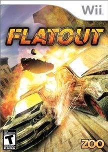 Zoo Games Flatout Racing Vg Wii Platform 12 Locations 4 Game Modes 12 Unique Weapons