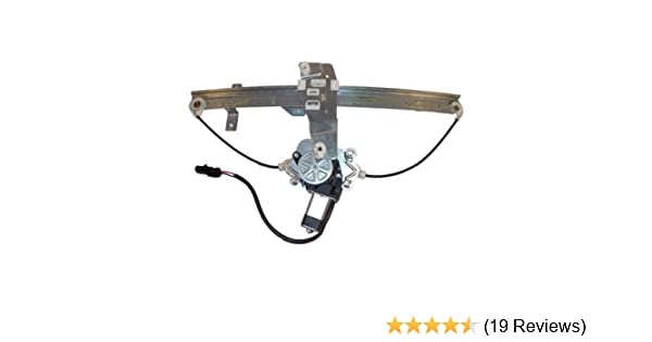 Power Window Regulator For 2000-2004 Jeep Grand Cherokee Front Left with Motor