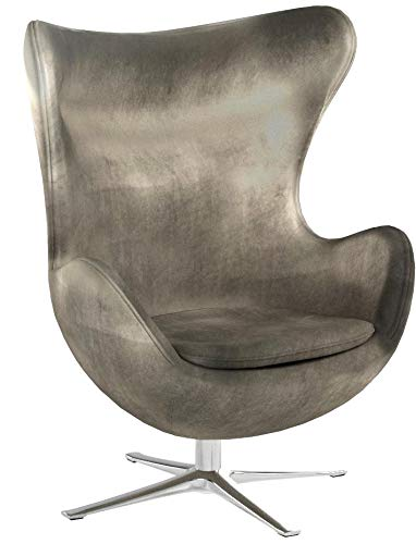 Christopher Knight Home 300700 Gadot Grey New Velvet Modern Swivel Chair,
