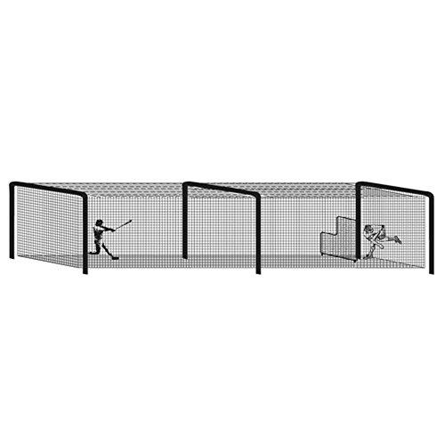 Baseball Batting Tunnel Steel Frames - 3 (Batting Tunnel Frame)