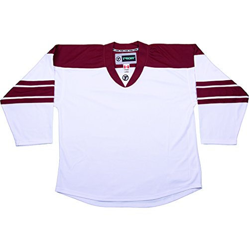 7077100f1 Tron DJ300 Phoenix Coyotes Dry Fit Hockey Jersey (White - Small)