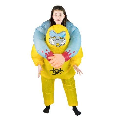 Bodysocks Inflatable Biohazard Costume (Kids)