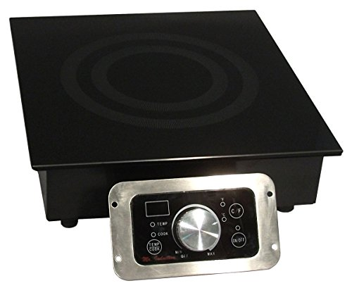 SPT SR-184R 1800W Built-In Commercial Range Induction, Black by SPT