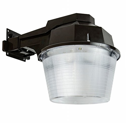 Lights Of America 9365E-BR5 40W LED Security Yard Light