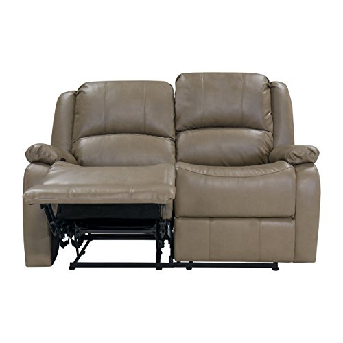 Recpro Charles 58 Double Rv Zero Wall Hugger Recliner Sofa Loveseat Putty Best Sofas Online Usa