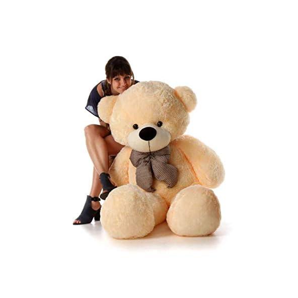 Buttercup Soft Toys Extra Large Very Soft Lovable/Huggable Teddy Bear for Girlfriend/Birthday Gift/Boy/Girl – 3 Feet (91 cm, Cream)