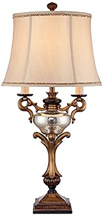 Captivating Winifred Faux Twin Candelabra Table Lamp