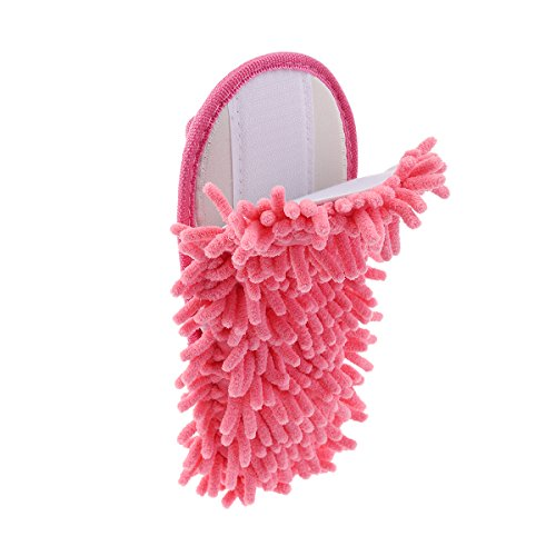 Chaussons OULII Sols Nettoyage Mop de Rose Femmes Pantoufles des xqfCB0nqg