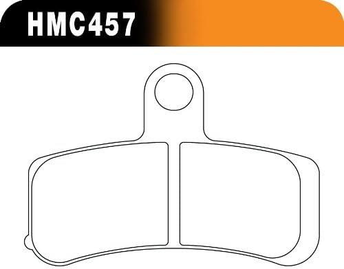 Hawk Performance HMC5019 Metallic Motorcycle Brake Pad Set