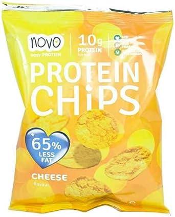 Protein Chips Queso 30 g Novo Nutrition: Amazon.es ...