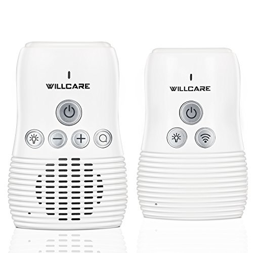 Willcare Baby Monitor with Two-Way Audio (ECO Defaulted, white)