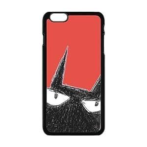 Cartoon cat graffiti personalized creative custom protective phone case for Iphone 6 4.7Kimberly Kurzendoerfer