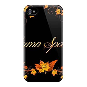 New Arrival Cover Case With Nice Design For Iphone 4/4s- Autumn Sparkles