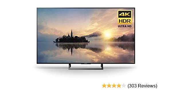 Sony KD43X720E 43-Inch 4K Ultra HD Smart LED TV (2017 Model)