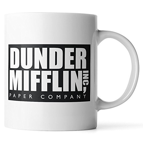 WuRen SYNCHKG111723 Dunder Mifflin The Office - Funny coffee...