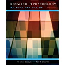 Research In Psychology: Methods and Design, 7th Edition