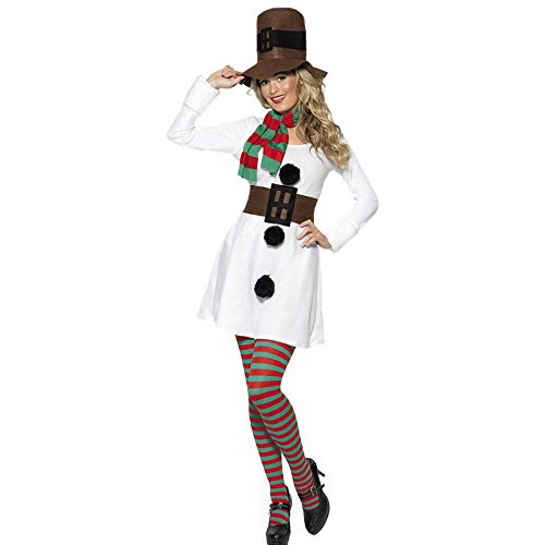 Christmas Snowman Costume For Mens And Womens Couples Christmas Cosplay Costume
