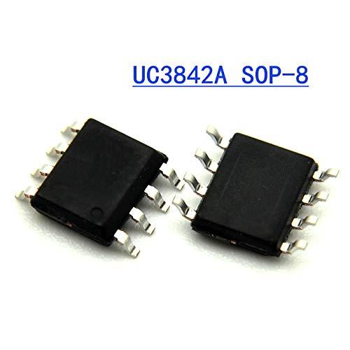 200PCS UC3842A SOP8 UC3842 SOP UC3842B SMD New and Original IC
