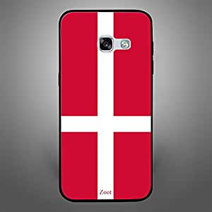 Samsung Galaxy A3 2017 Denmark Flag