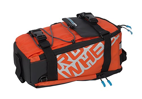 Series Cargo Bag - Roswheel Lohas Series 141276 Water Resistant Rear Rack Trunk Cargo Bag, 5L, Orange
