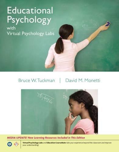 Cengage Advantage Books: Educational Psychology with Virtual Psychology Labs (with Education CourseMate with eBook Print