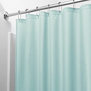 Navy Blue Vinyl Shower Curtain Liner Best Curtain 2017