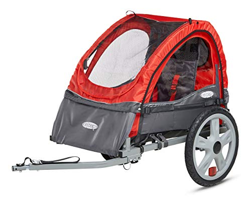 Instep Sync Single Bicycle Trailer, Red (Renewed)
