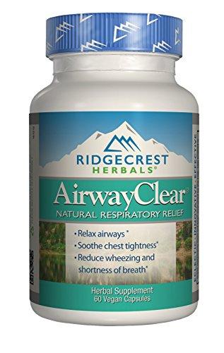 Ridgecrest Herbals - AirwayClear - 60 Vcap