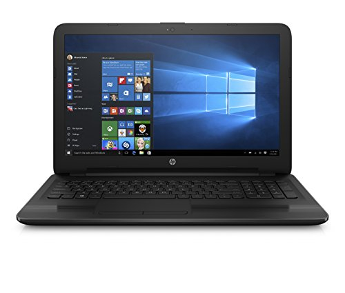 HP Notebook Laptop 15.6 HD Vibrant Display Quad Core AMD E2-7110 APU 1.8GHz 4GB RAM 500GB HDD DVD Windows 10 ()