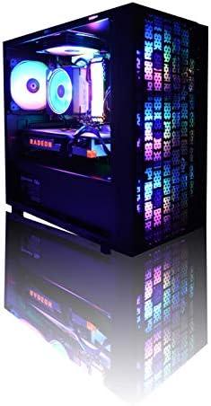 [해외]【 Astromeda Micro 】 ゲ?ミングデスクトップパソコン 【 Ryzen 2700XVega 64 8GB16GB 메모리 RGBSSD 512GBHDD2TBWidows10Home 64bitMicro ATX블랙 케이 스 】 / [Astromeda Micr