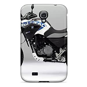 For Galaxy S4 Premium Tpu Cases Covers Bmw G650 Gs Sertao Motorcycles White Protective Cases
