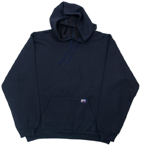 LAPCO SWHFR14NY- XL Flame Resistant Hooded SweatShirt, Na...