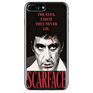 Loud Universe never Lie Quote Scarface Phone 7 Plus Case Tony Montana Phone 7 Plus Cover with Transparent Edges