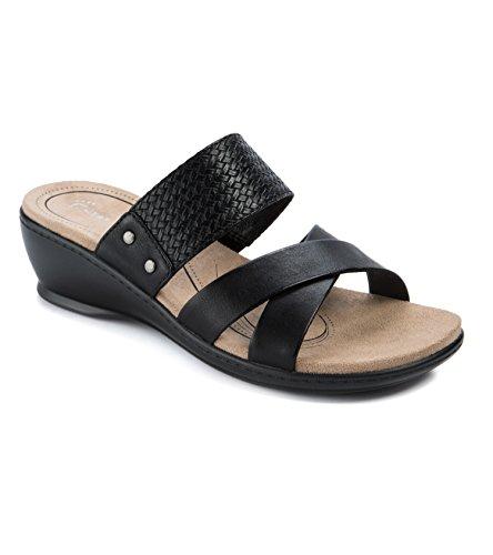 Wear.Ever. Natoya Women's Sandals & Flip Flops Black Size 9 M (WR11890)