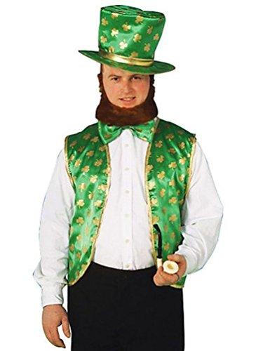 Forum St. Patrick's Day Leprechaun Costume Kit, Green/Gold, One Size (Leprechaun Costume Kit)