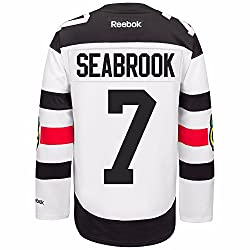 Reebok Brent Seabrook Chicago Blackhawks Nhl White Official 2016 Stadium Series Premier Jersey For Men (S)