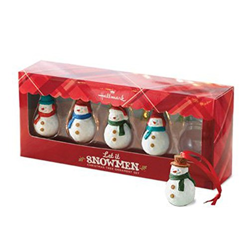 Hallmark Keepsake Ornament Direct Imports Let It Snowman 5 Piece Set ()