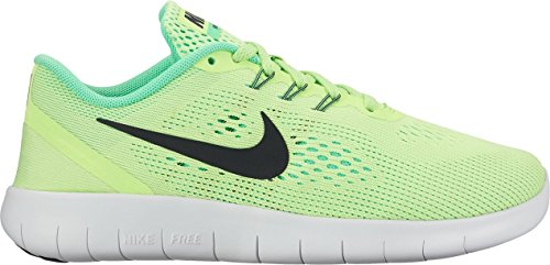 Nike Mädchen Free RN Laufschuhe GHOST GREEN/BLACK-ELECTRO